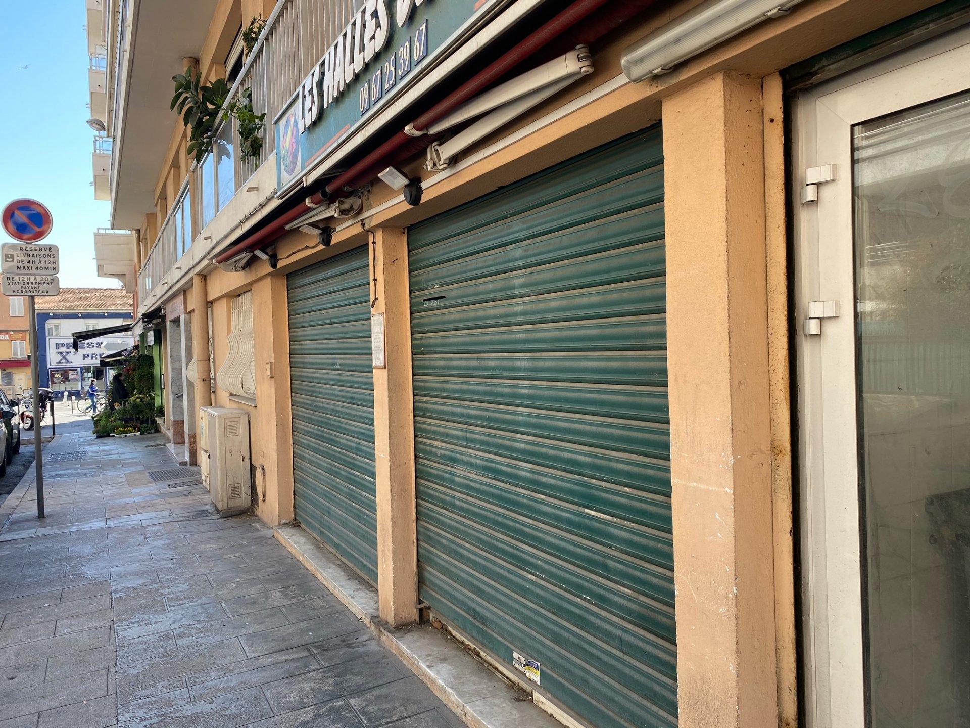 Alpes Maritimes (06) NICE OUEST CALIFORNIE - MURS COMMERCIAUX