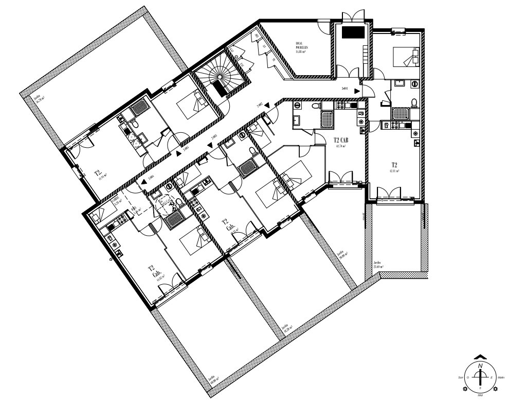 Appartement T2 RDC
