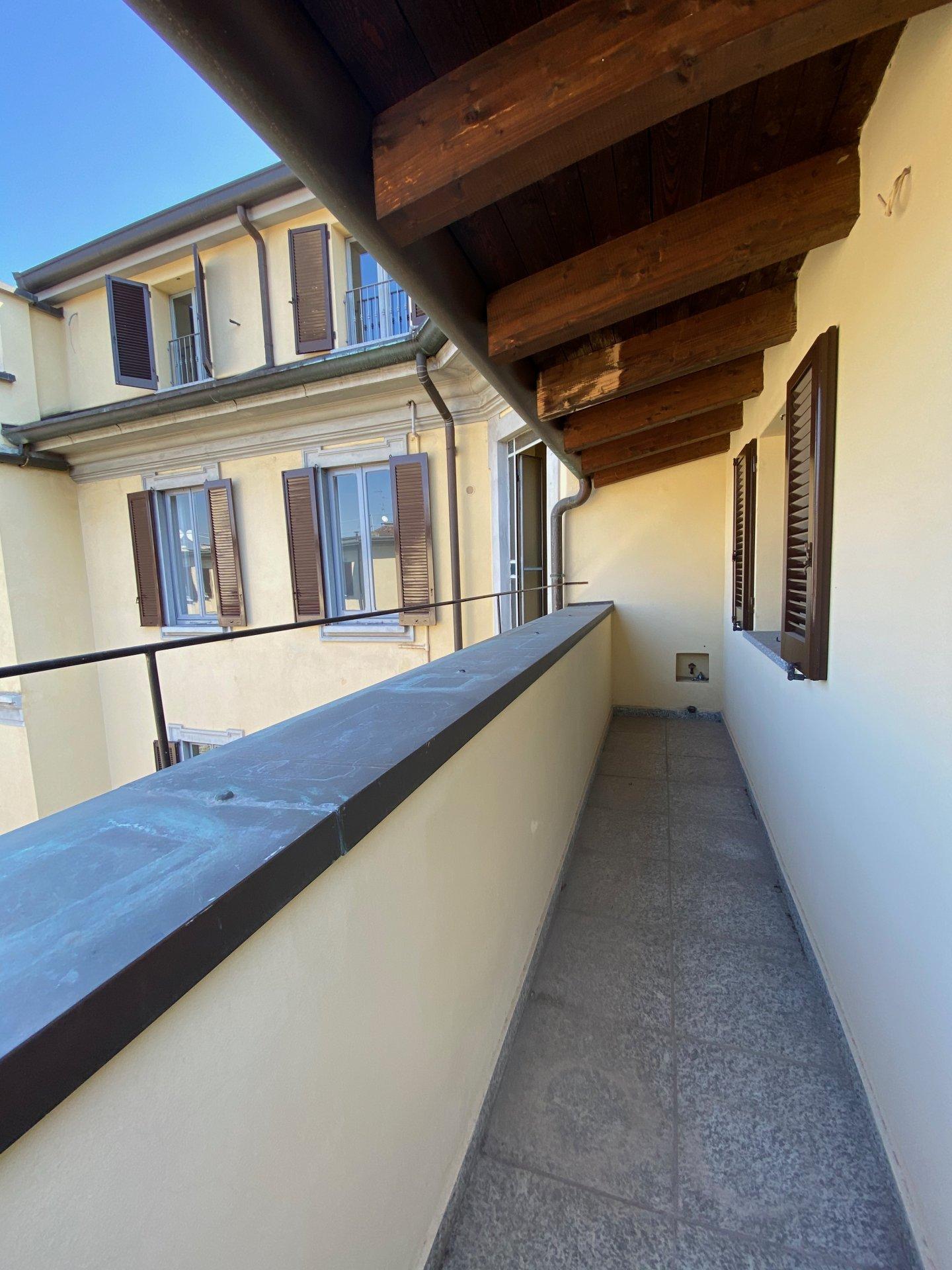 Affascinante mansarda con terrazzi