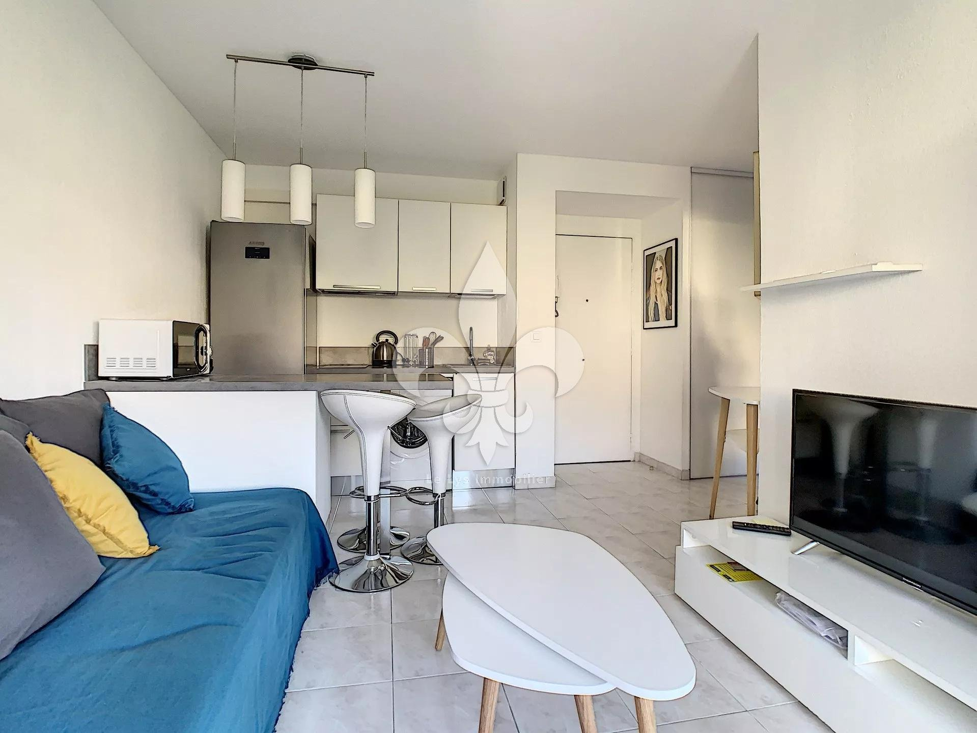 Cannes - Montfleury : 2 rooms with terrace