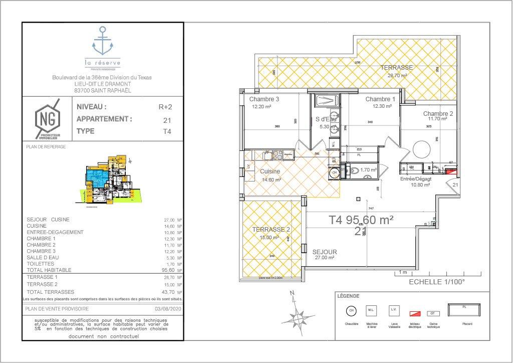 Vendita Appartamento - Saint-Raphaël Le Dramont