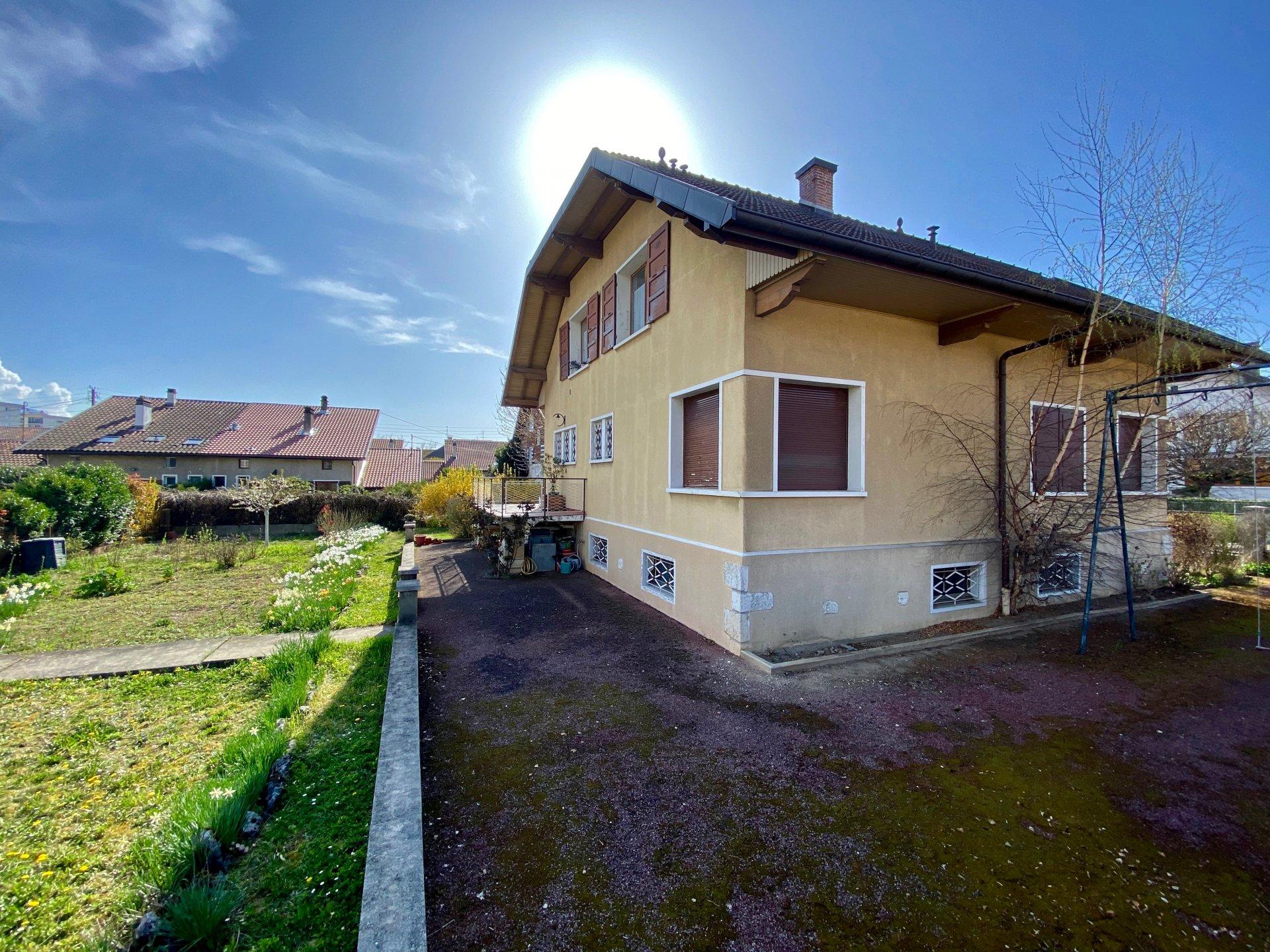Maison individuelle Annecy avec jardin