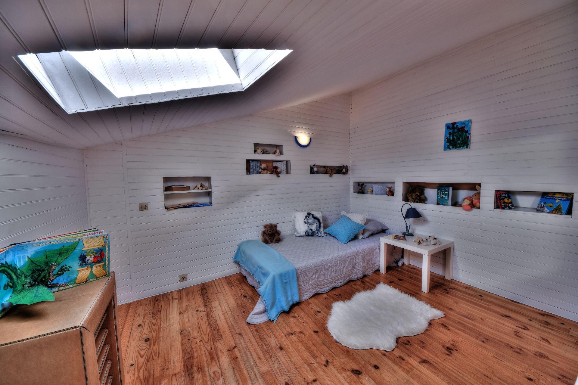Chambre 3 de la maison de village 3 chambres, Var, Provence, Verdon