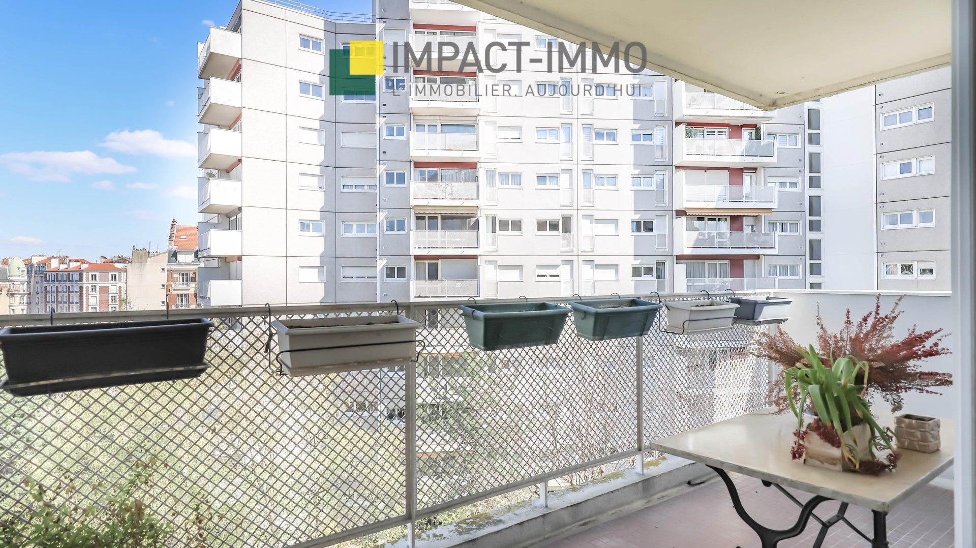 3 Pièces - cave parking balcon - BECON