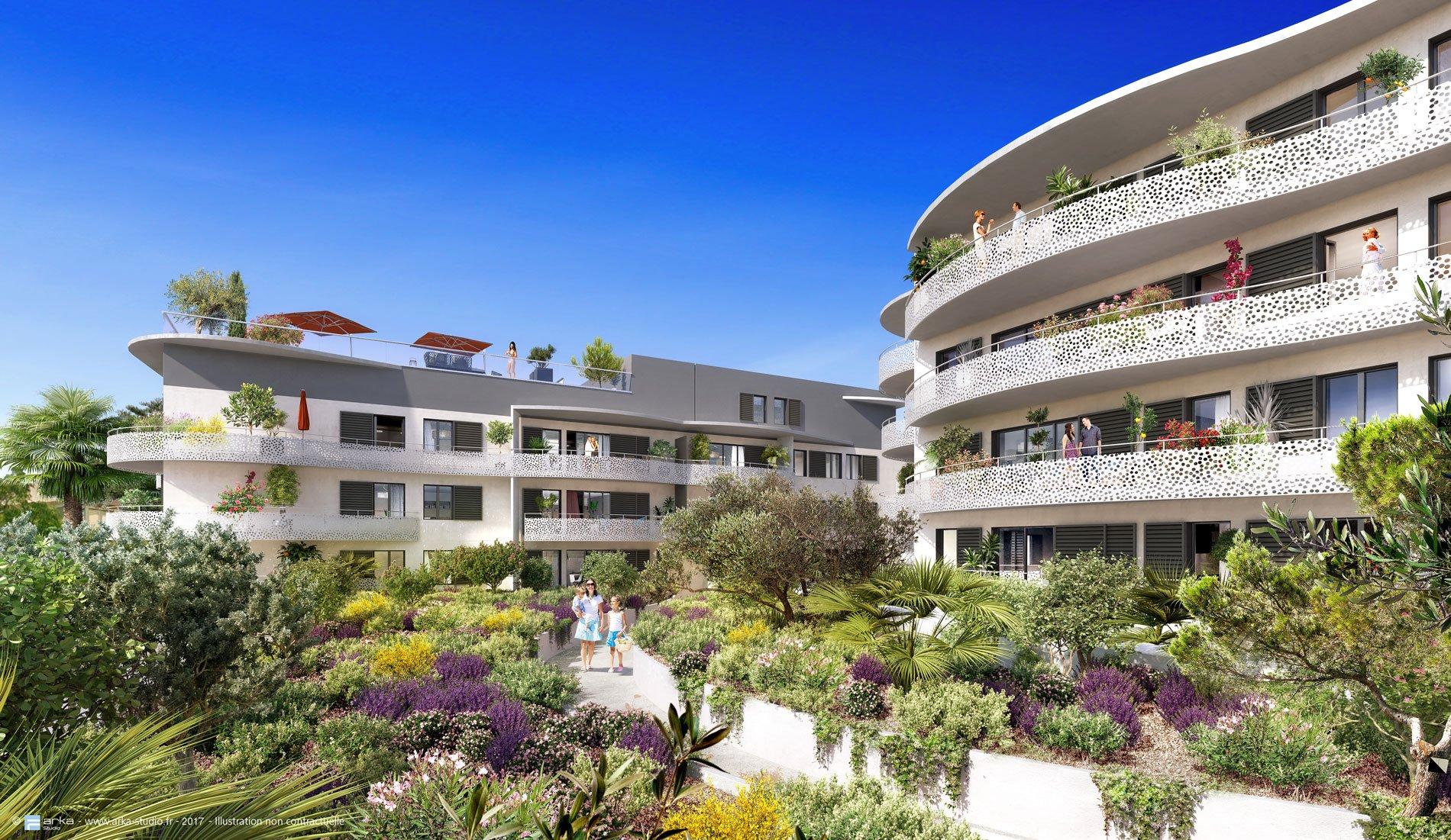 Mandelieu résidence récente Beau  4 pièces de 85 m² + 30 m² Terrasse