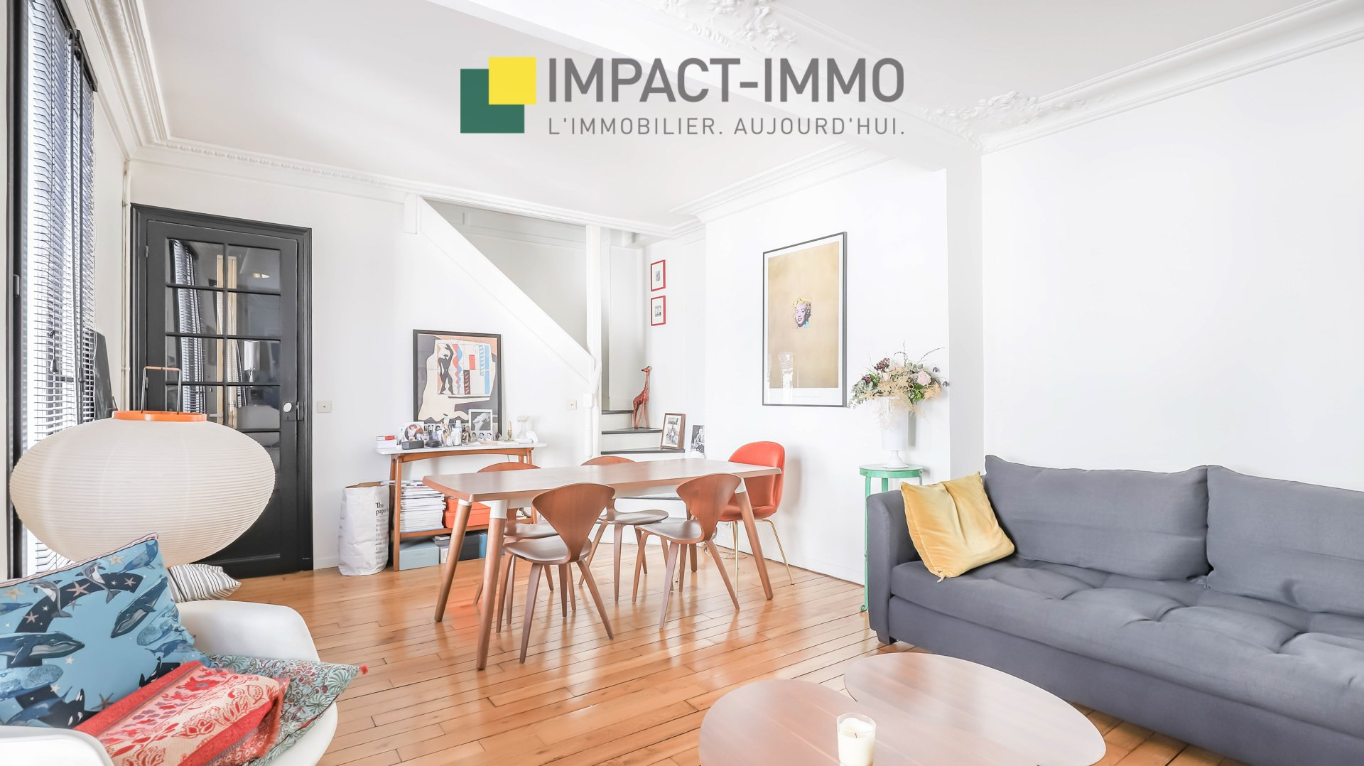 A VENDRE - DUPLEX - GRANDES CARRIERES - 75018 PARIS