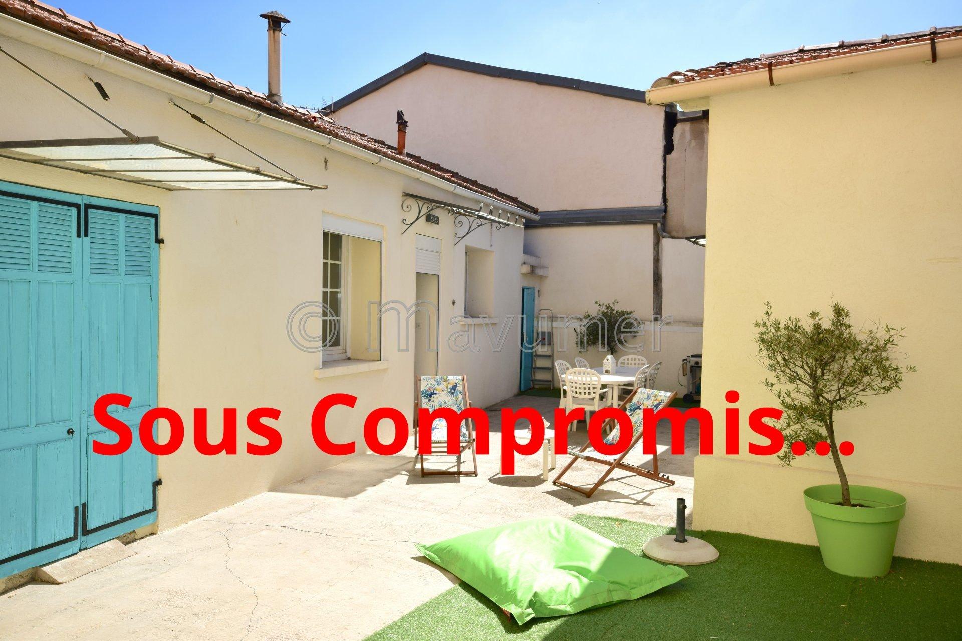 URGENT Maison de plain-pied + studio + terrasse + garage - Pont de Vivaux