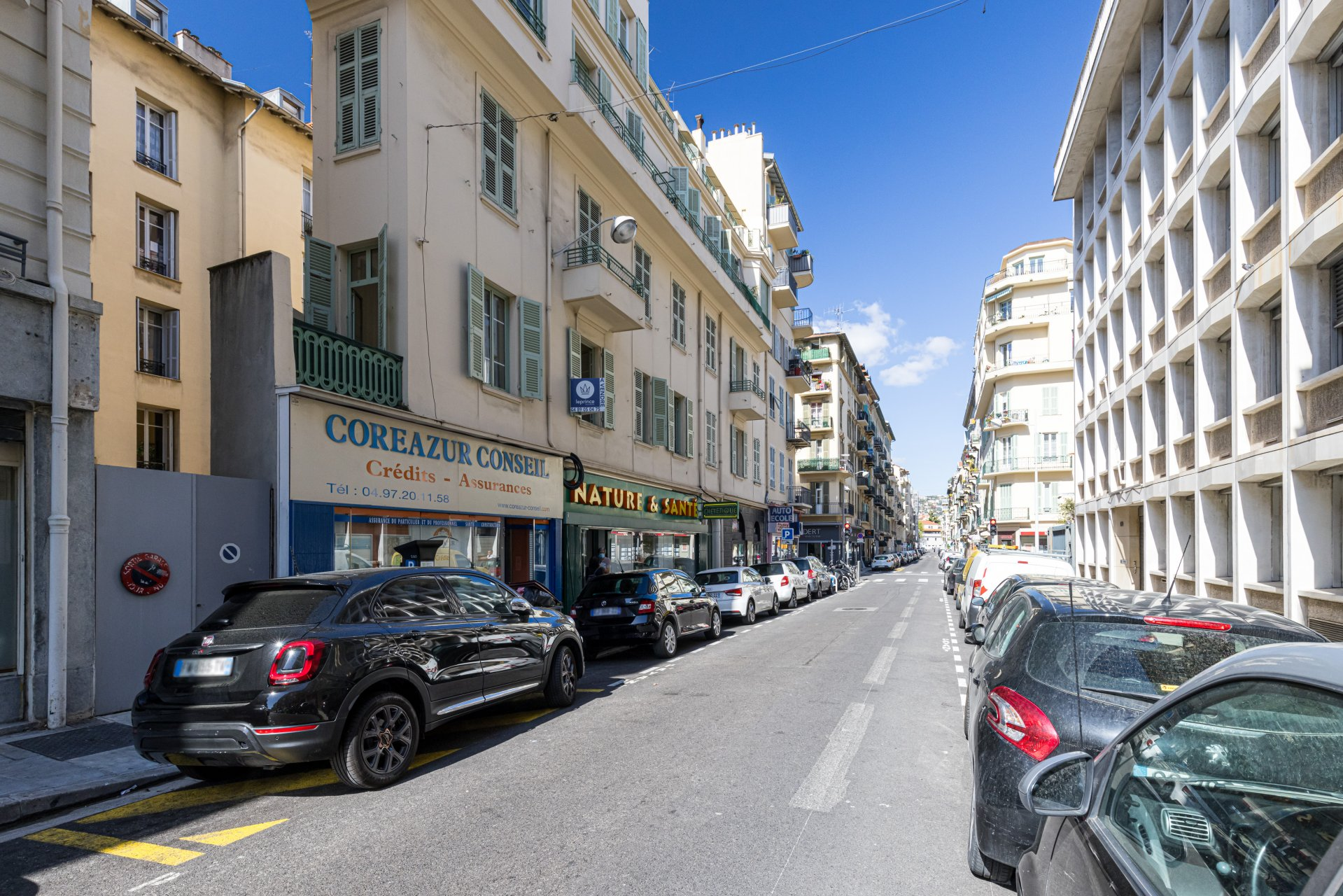 Nice City Center / Street Tonduti de L'Escarene - One Bedroom Apartment - Balcony