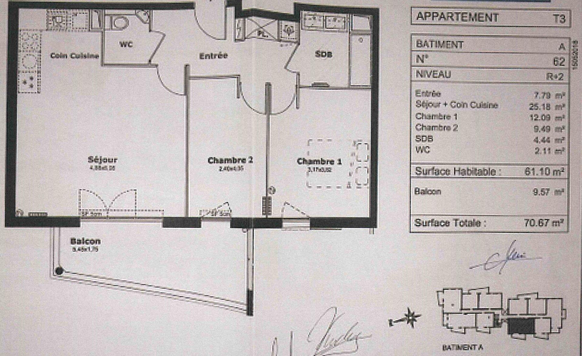 Affitto Appartamento - Saint-Laurent-du-Var Les Pugets