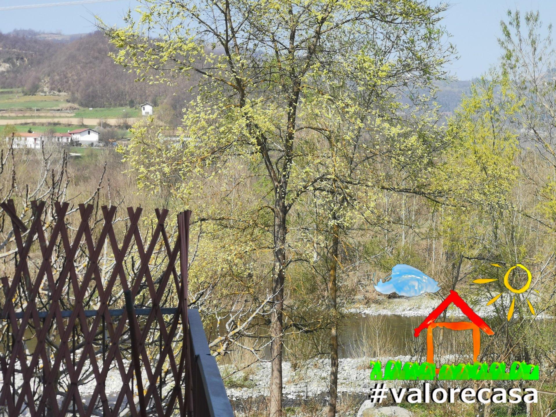 Terrazza con vista panoramica fiume Erro