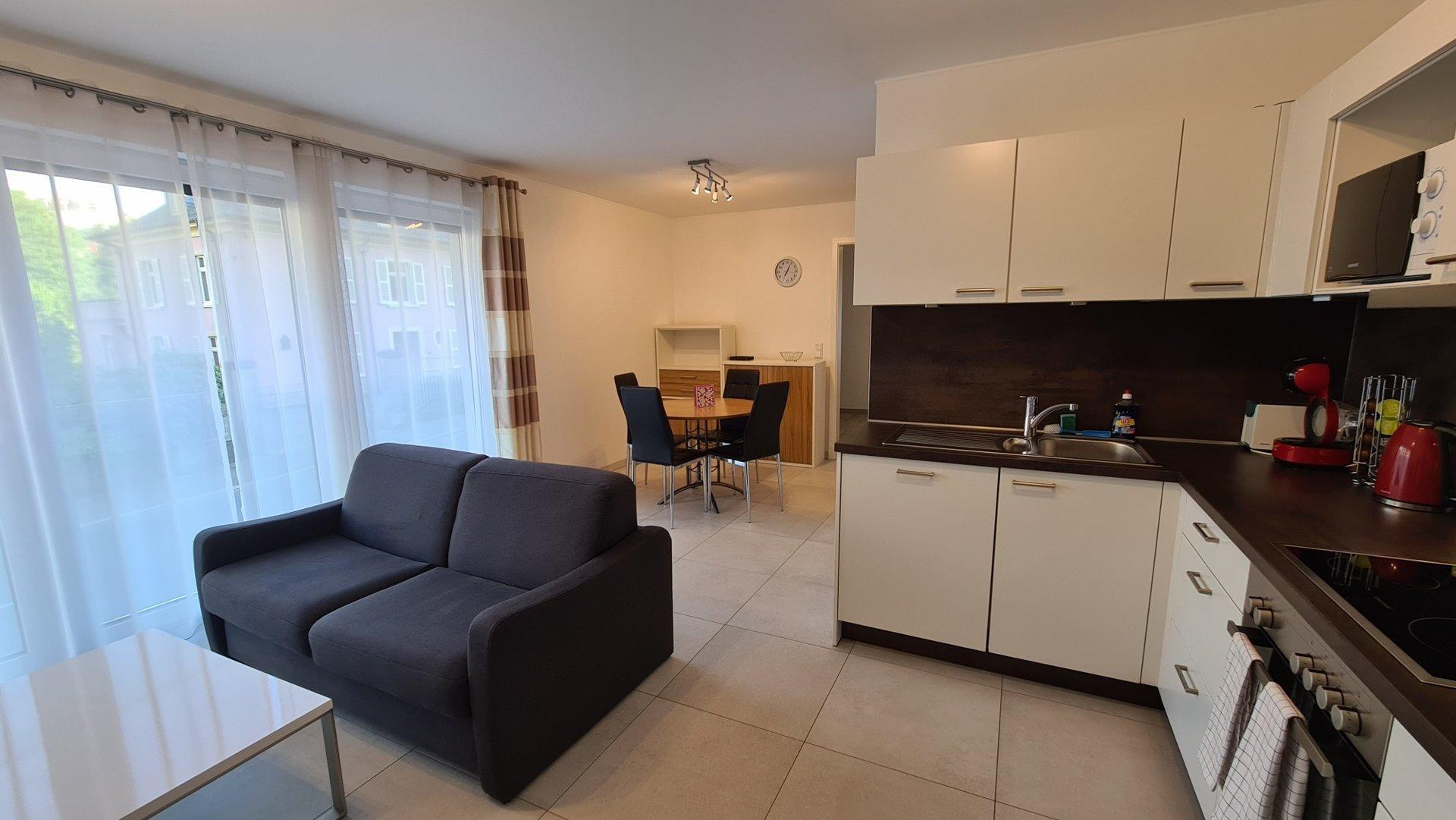 Belle appartement meublé 1 chambre à Luxembourg-Beggen