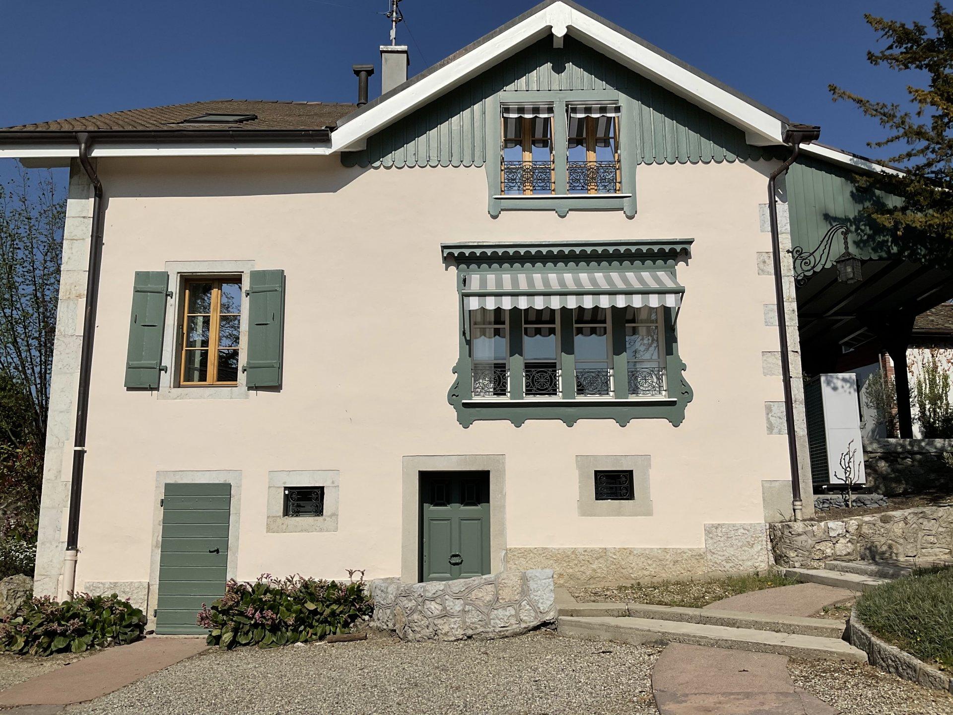 Splendide maison à Satigny