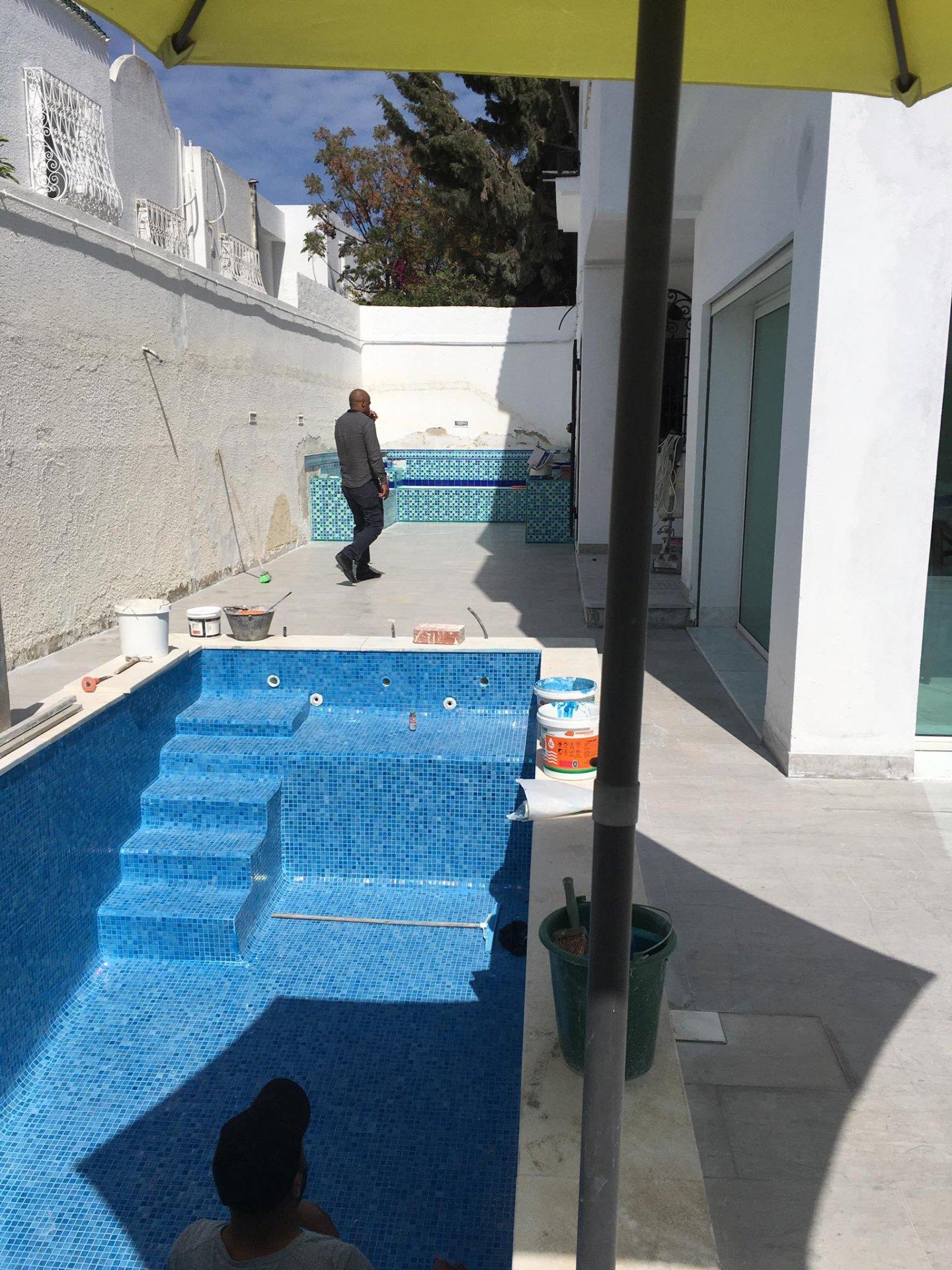 Location Villa avec piscine à La Marsa