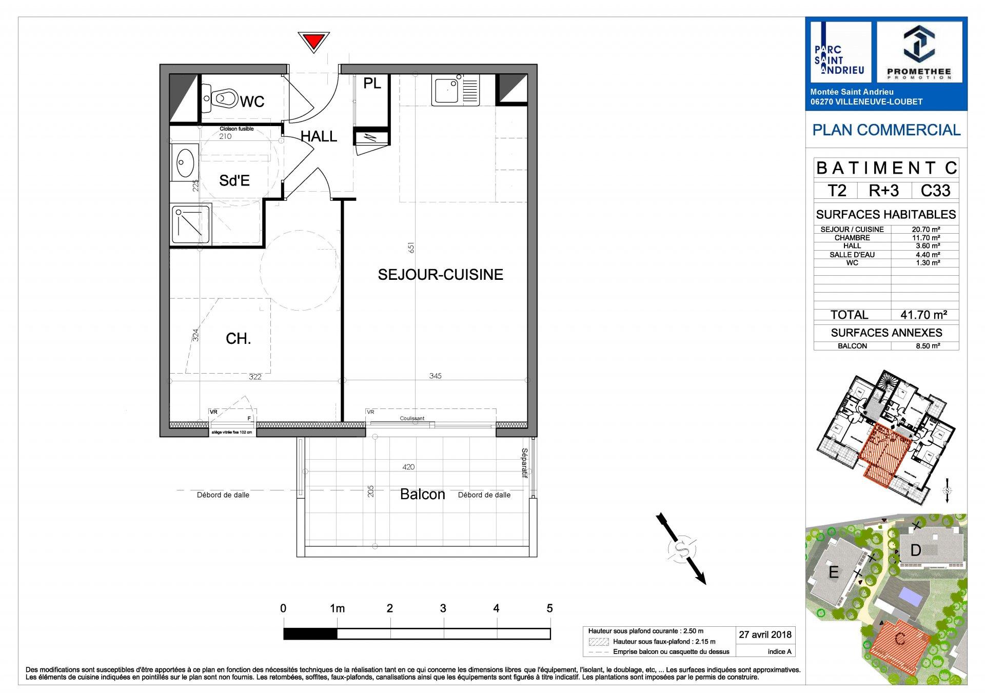 Rental Apartment - Villeneuve-Loubet Ginestière