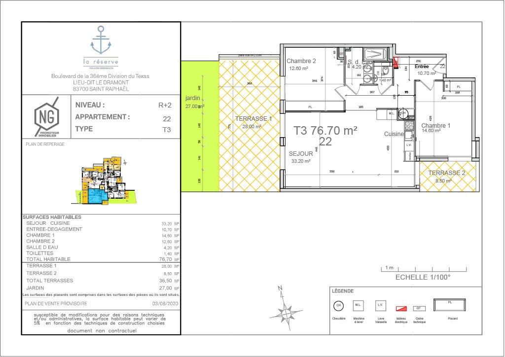 Sale Apartment - Saint-Raphaël Le Dramont