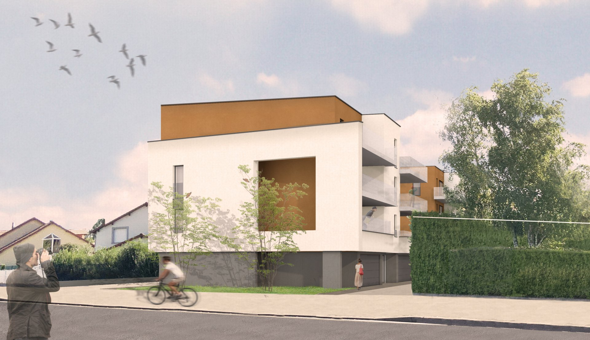 FOR SALE  NEW FLAT OF 56.10SQ.M  IN THIONVILLE/MANOM