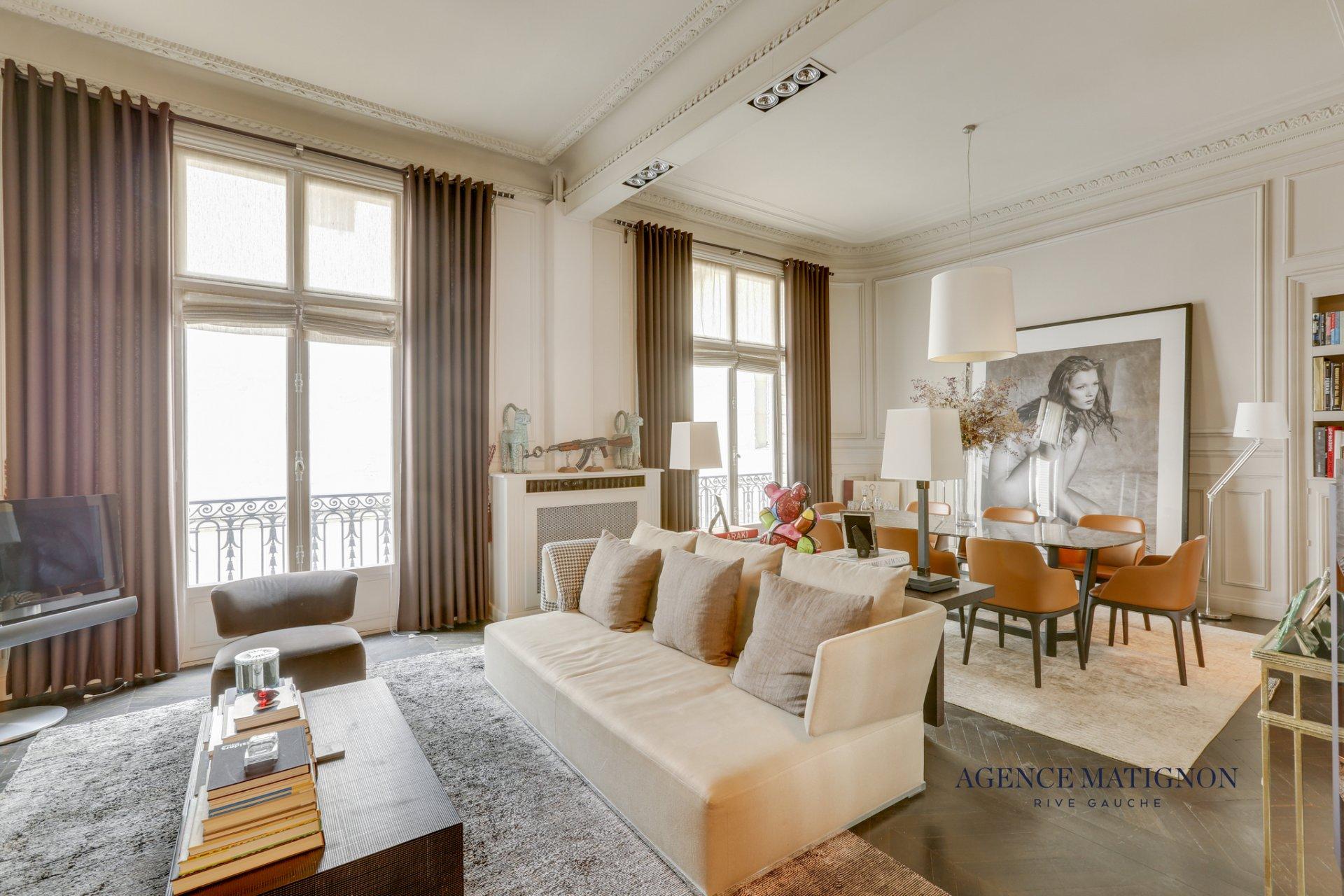 Appartement 4 pièces 114 m² 75008