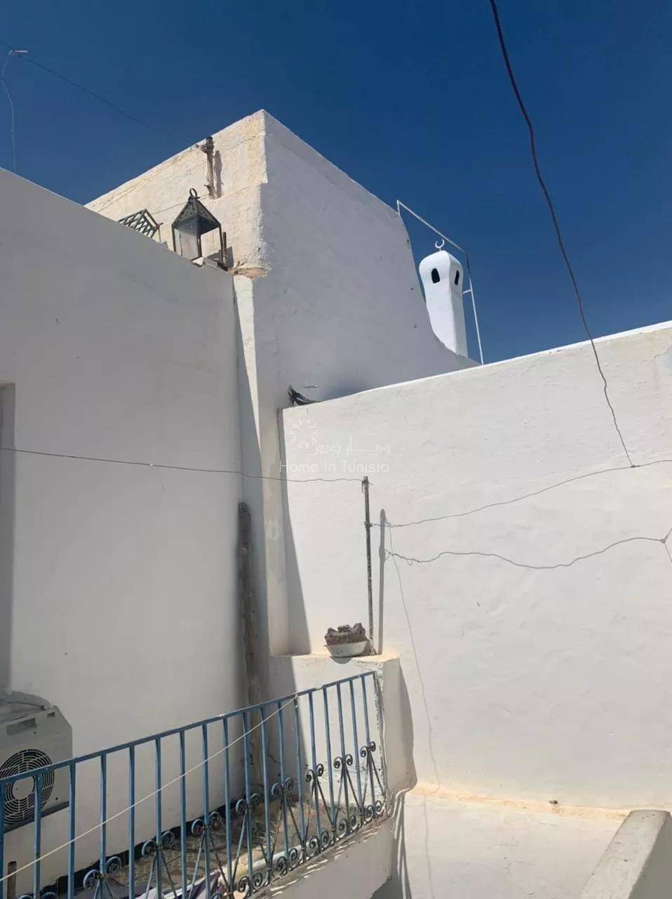 magnifica casa antica all'interno della maedina di Hammamet