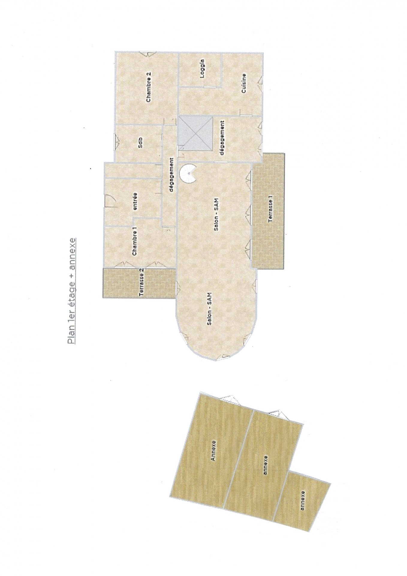 Propriété de près de 600 m²