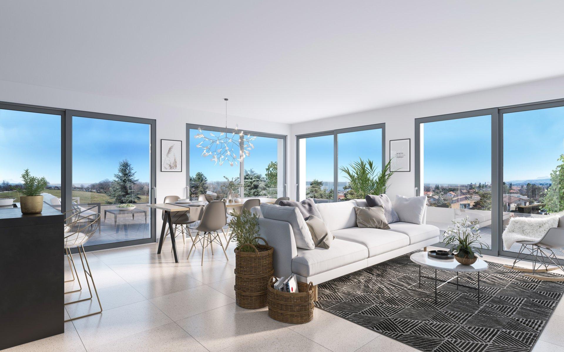 Vente de appartement à Thonon-les-Bains au prix de 566000€