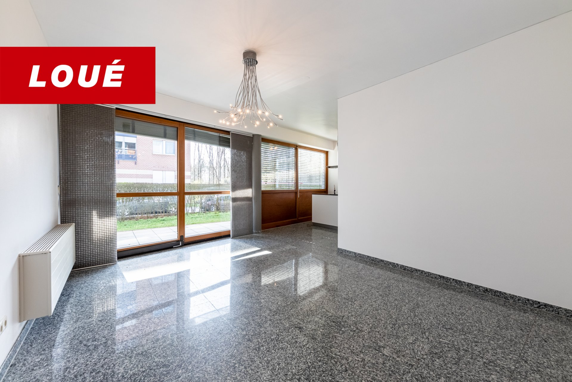 RENTED - apartment with 1 bedroom in Lux-Kirchberg