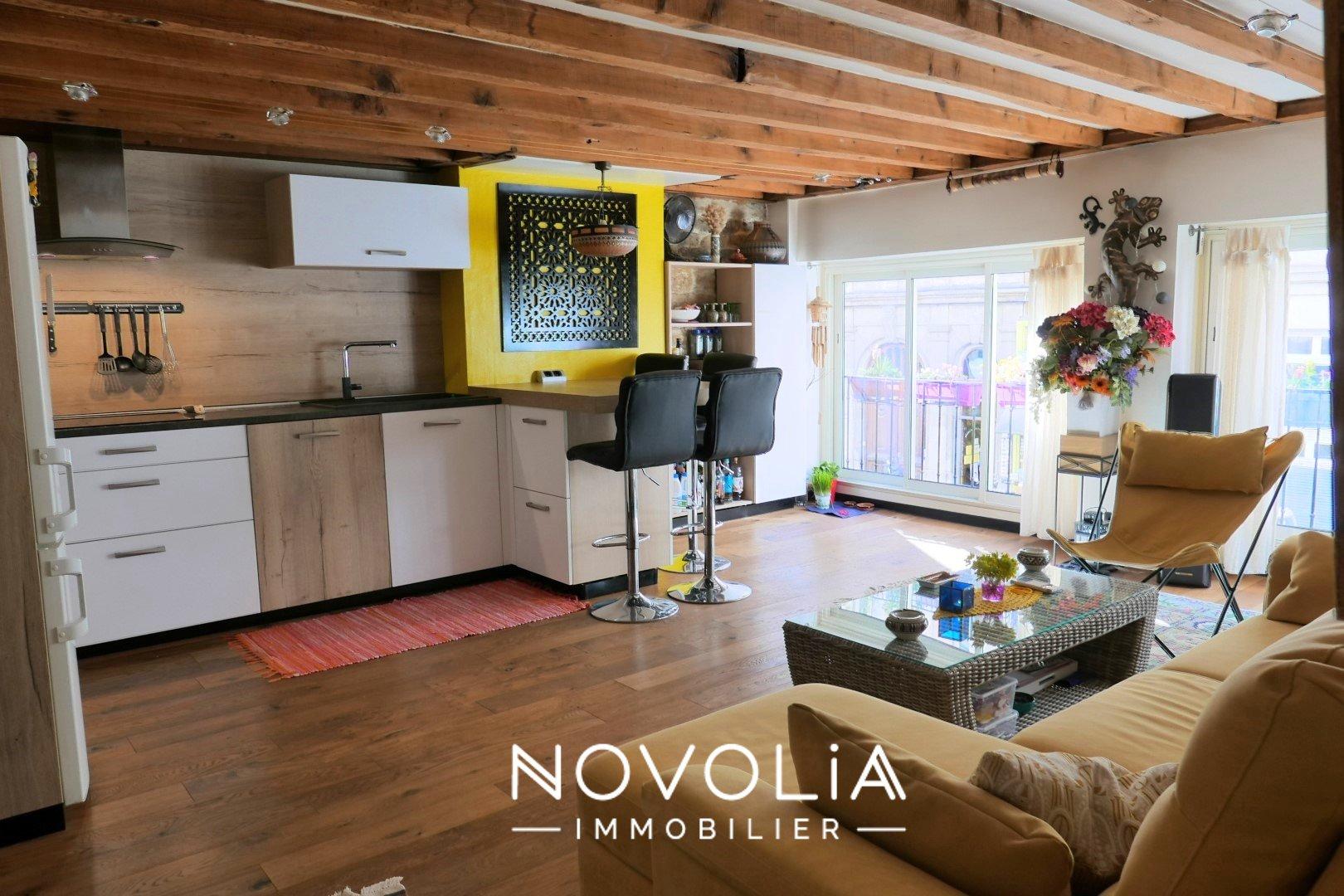 Achat Appartement Surface de 54.27 m²/ Total carrez : 54.27 m², 3 pièces, Lyon 7ème (69007)