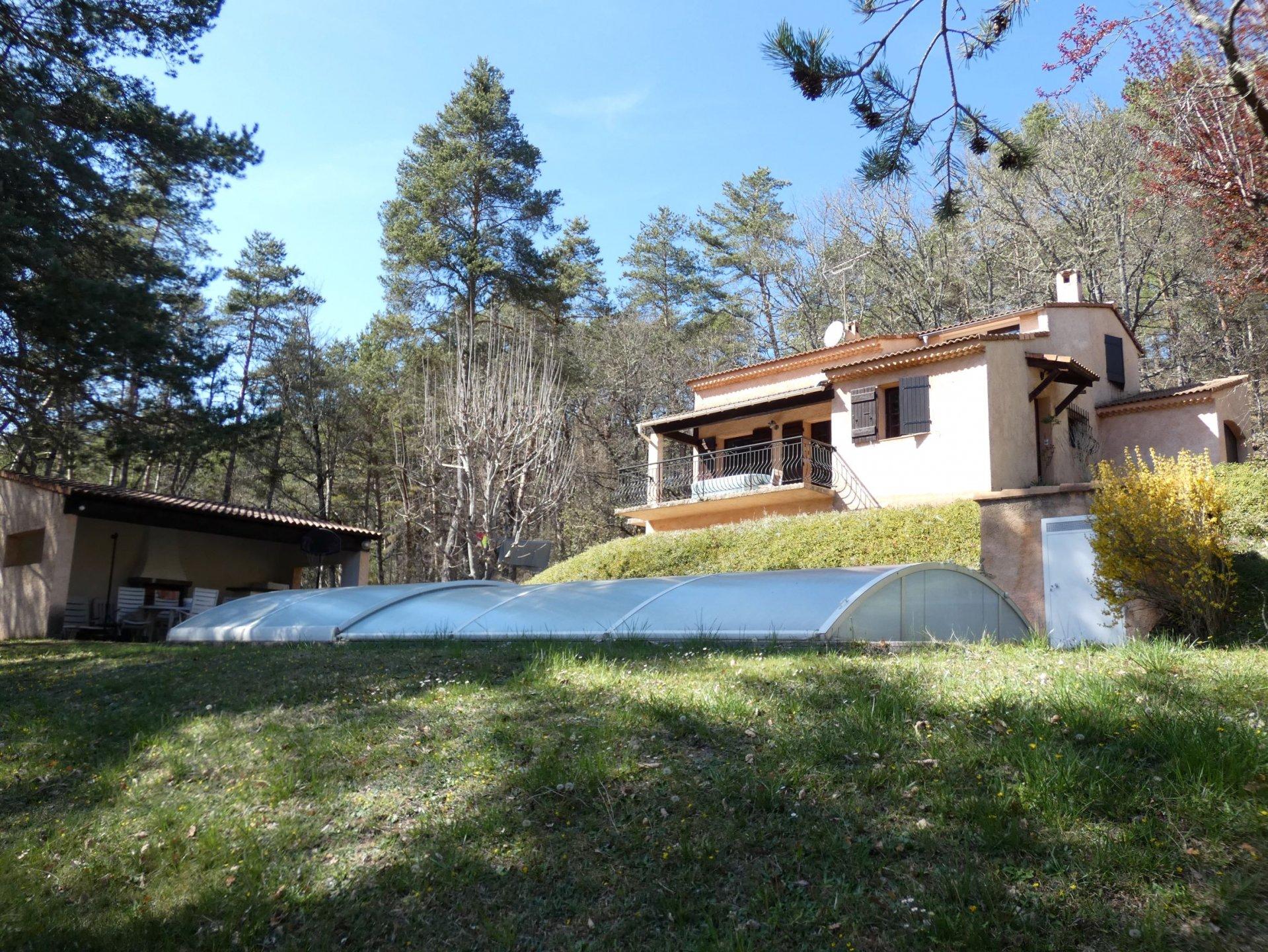 La Penne, villa individuelle avec piscine, au calme
