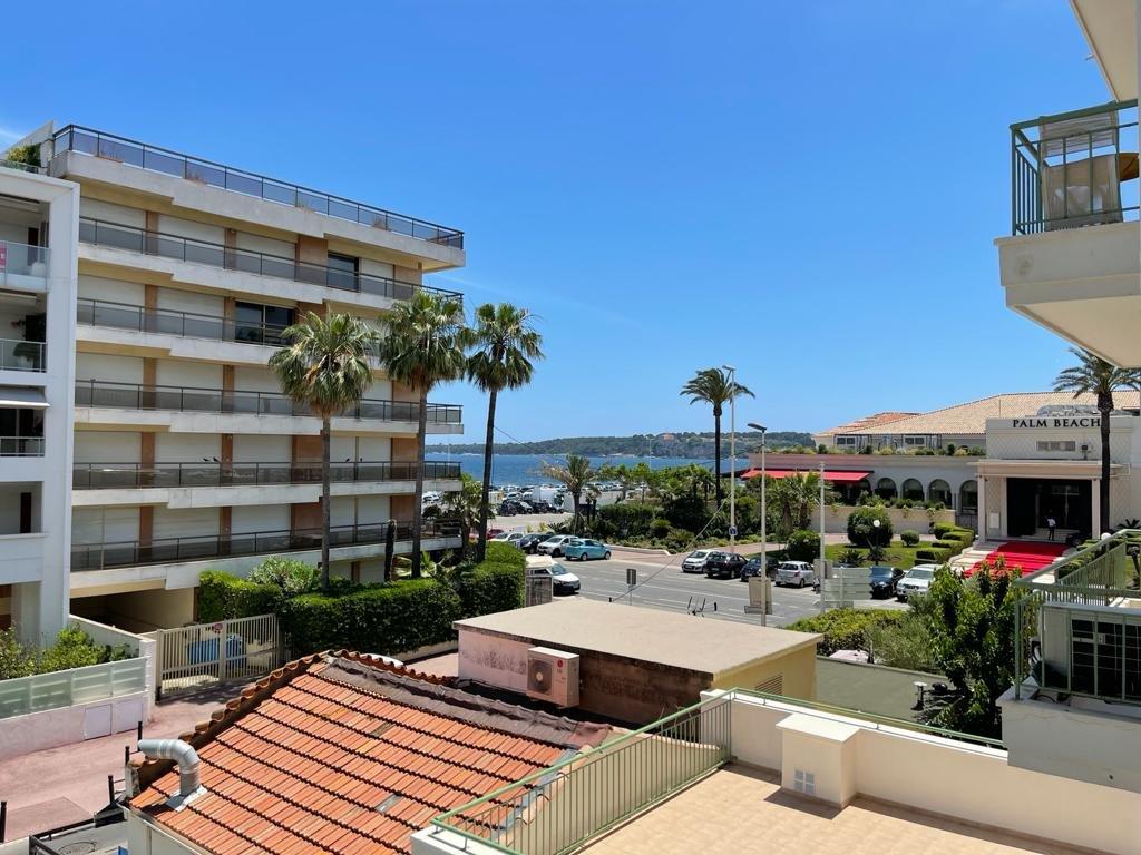 Cannes Palm Beach - 2P attractif avec balcon et vue mer