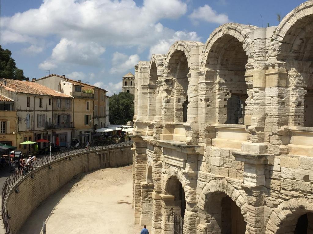 Maison de ville avec vue sur les Arênes d'Arles