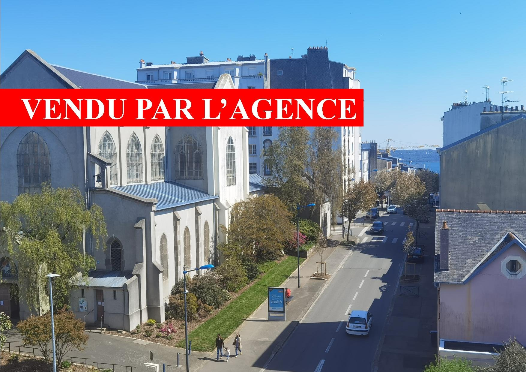 BREST - CENTRE VILLE - ST MICHEL - SUPERBE APPARTEMENT DE TYPE 6 - ASCENSEUR - 4 CHAMBRES