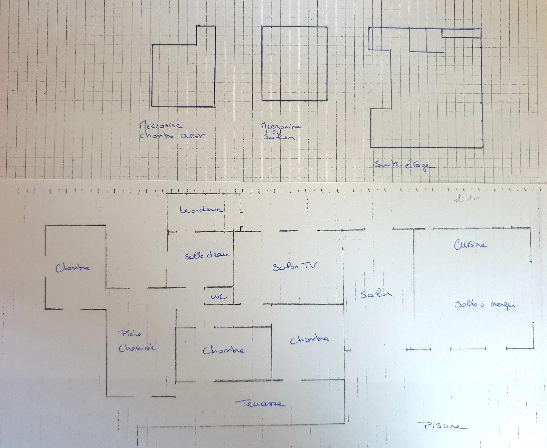 Propriété avec Piscine, grand jardin plat, et garage-atelier