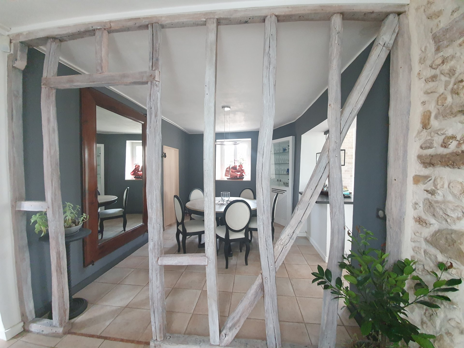 St Germain sur Ecole : Maison 7 pièces 200 m2