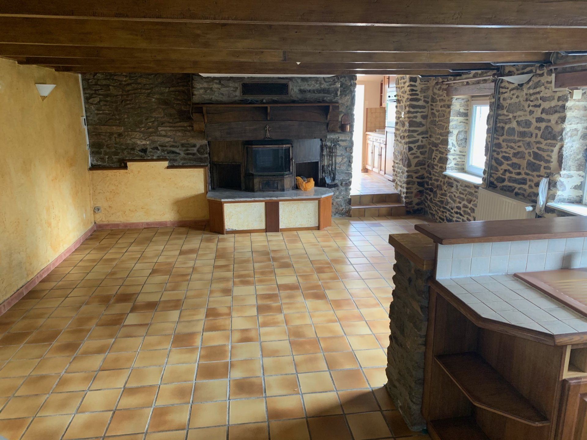 A VENDRE, Saint-Thégonnec, maison en pierres