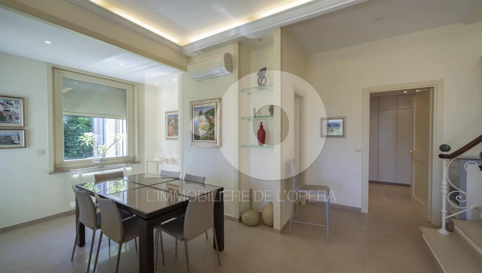 Menton - Villa  190 m2 - Vue Mer