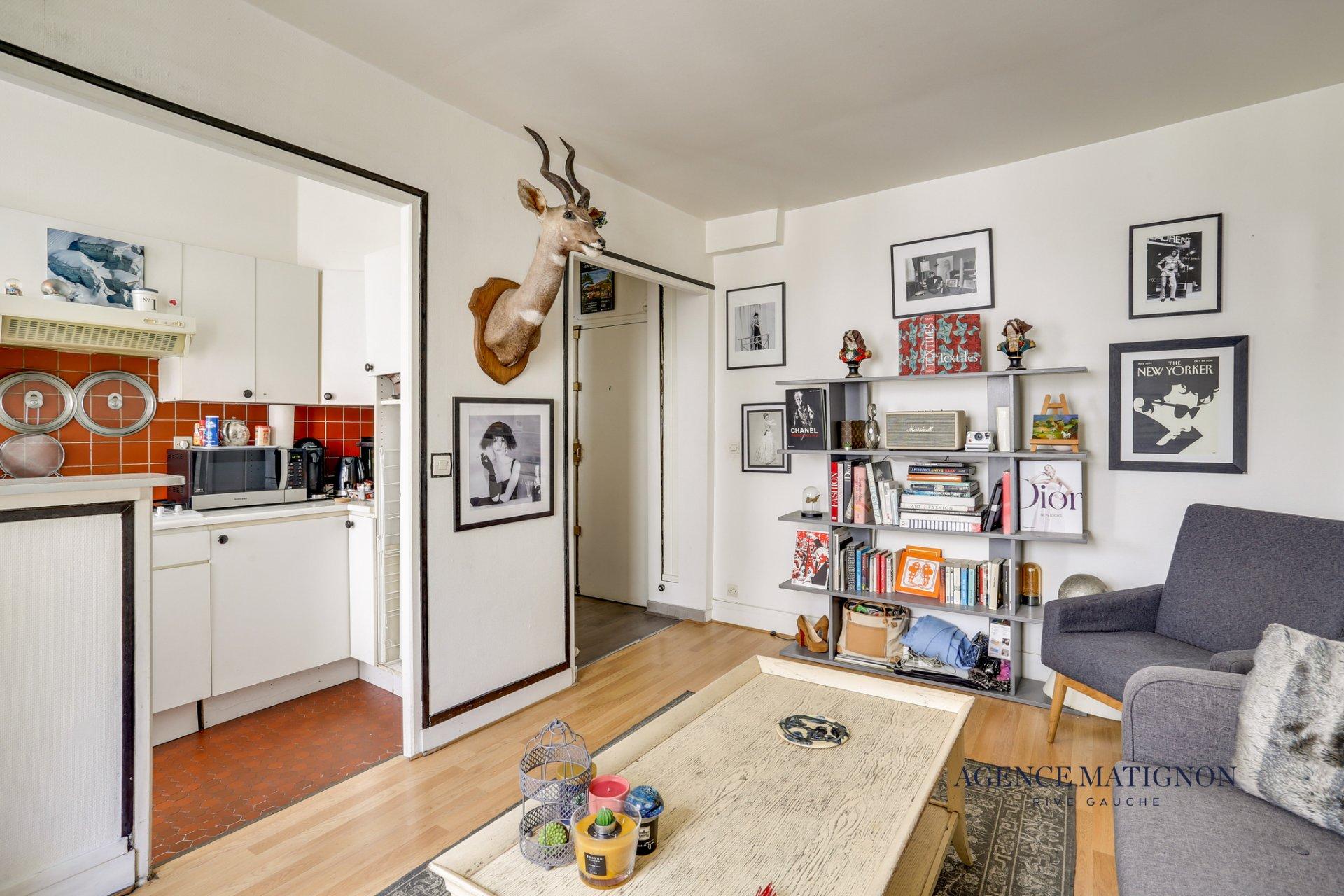 Appartement 2 pièces 34 m² 75006
