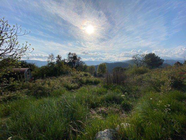 Vente Terrain - L'Escarène
