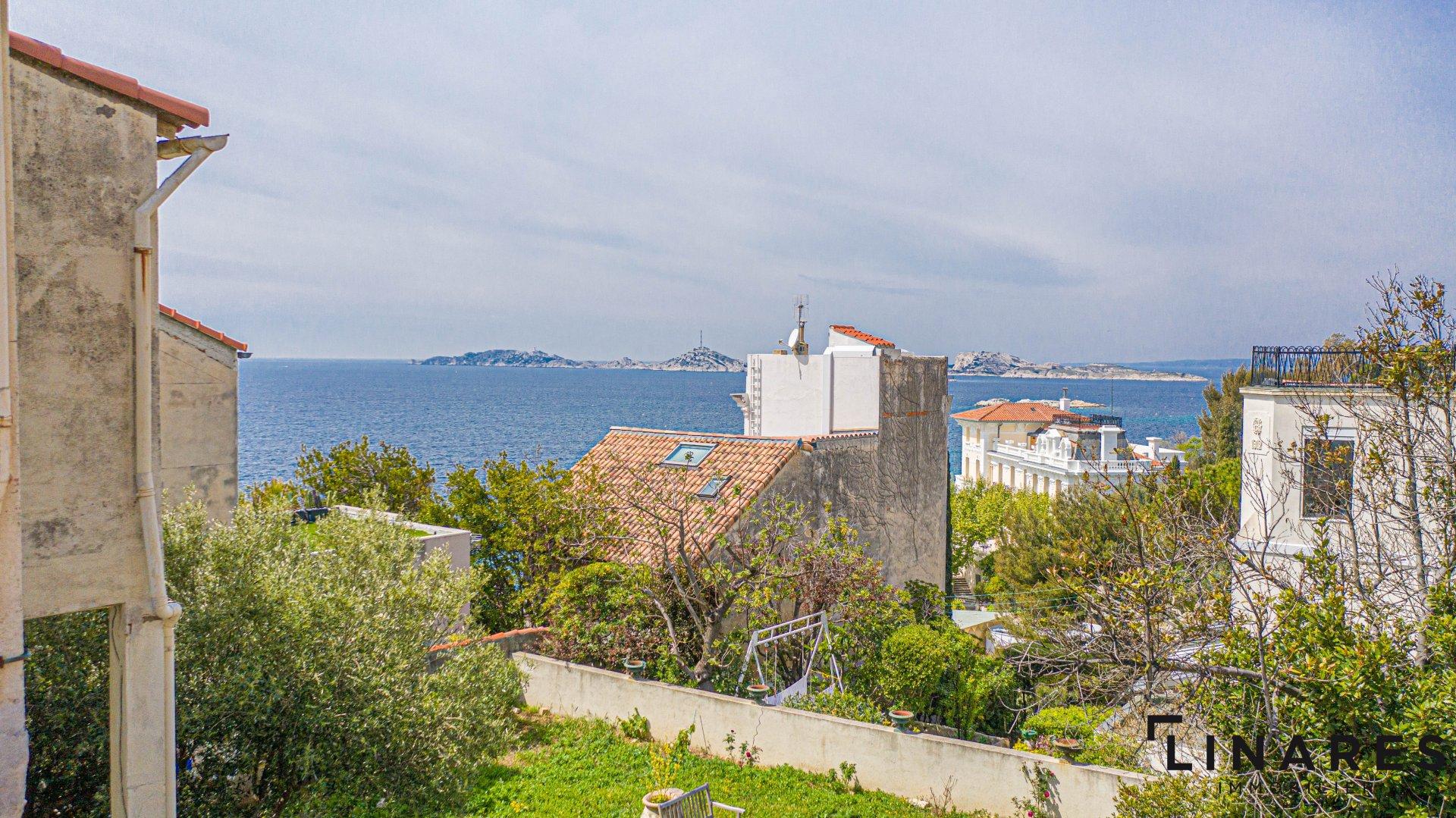 SUR MESURE - Maison de ville de 130m2 - Terrain 364m2 - Vue mer