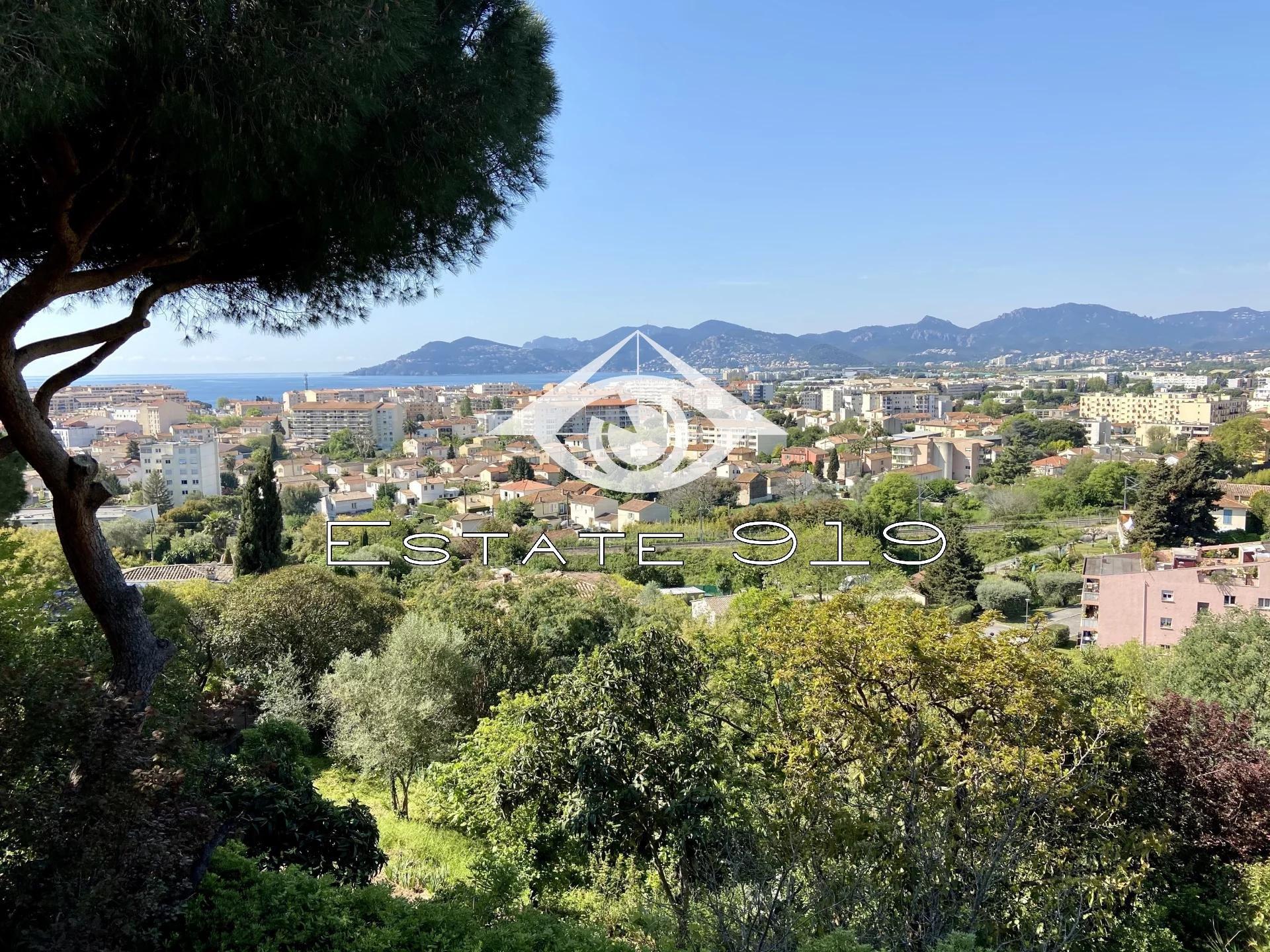 Cannes, Villa beau potentiel vue mer