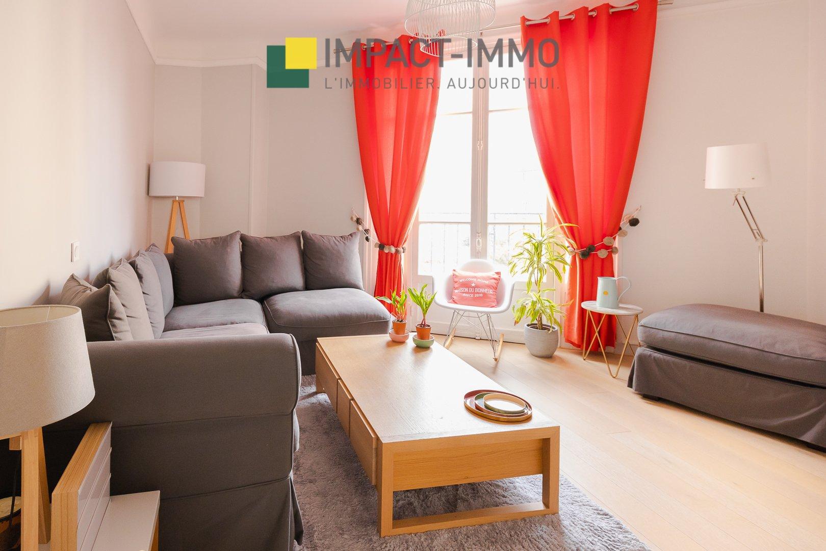 Appartement 4 pièces 2 chambres