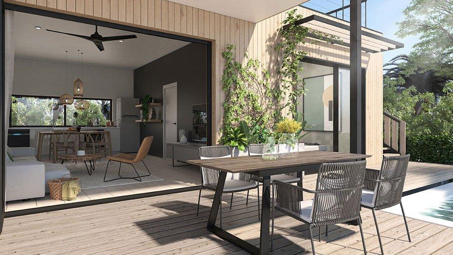 Eco-Luxe Villa in Mahebourg