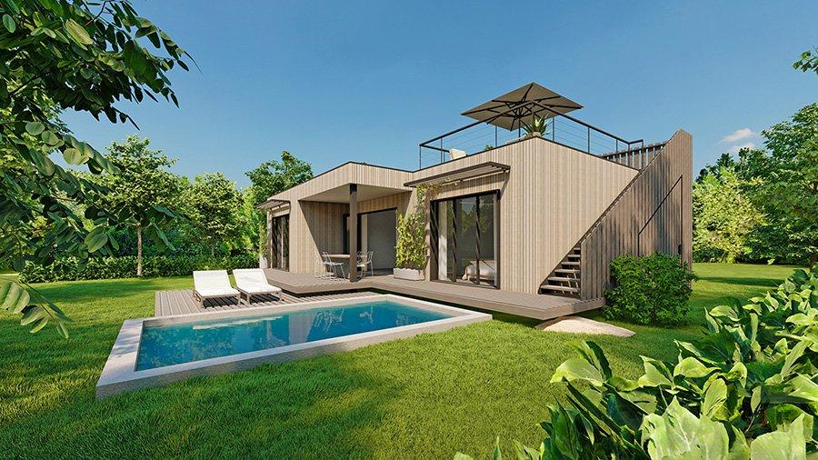 Villa Eco-Luxe a Mahebourg