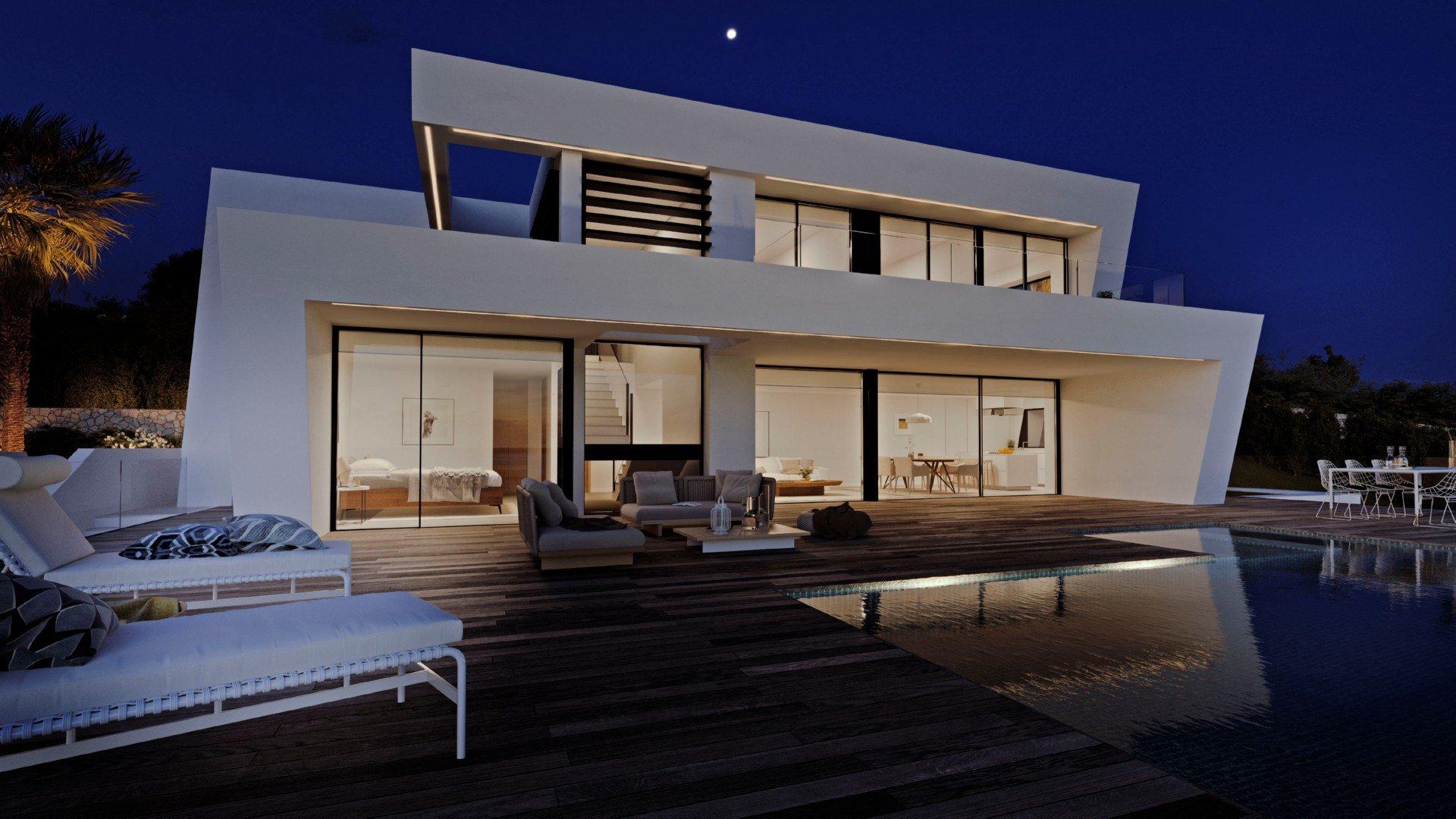Luxe moderne villa op Cumbre del Sol