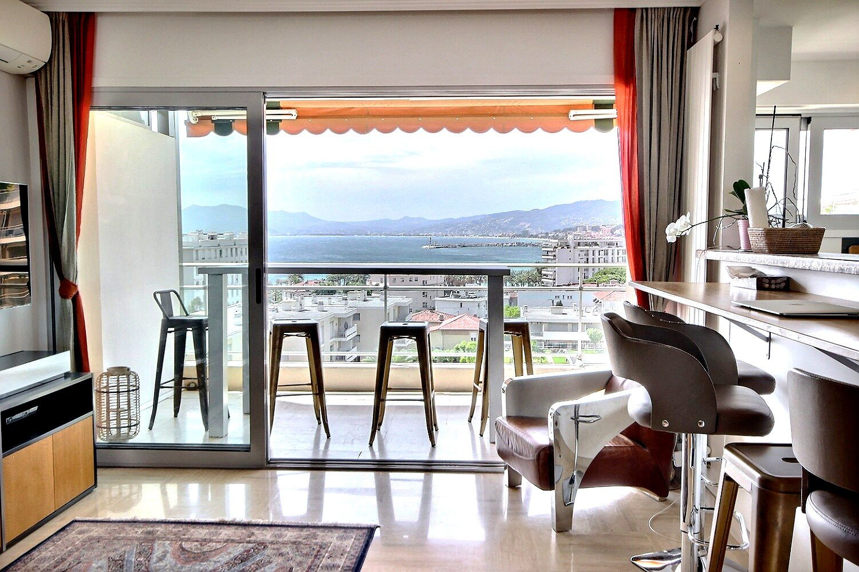Cannes Basse Californie proche Croisette avec une vue Panoramique sur la Mer