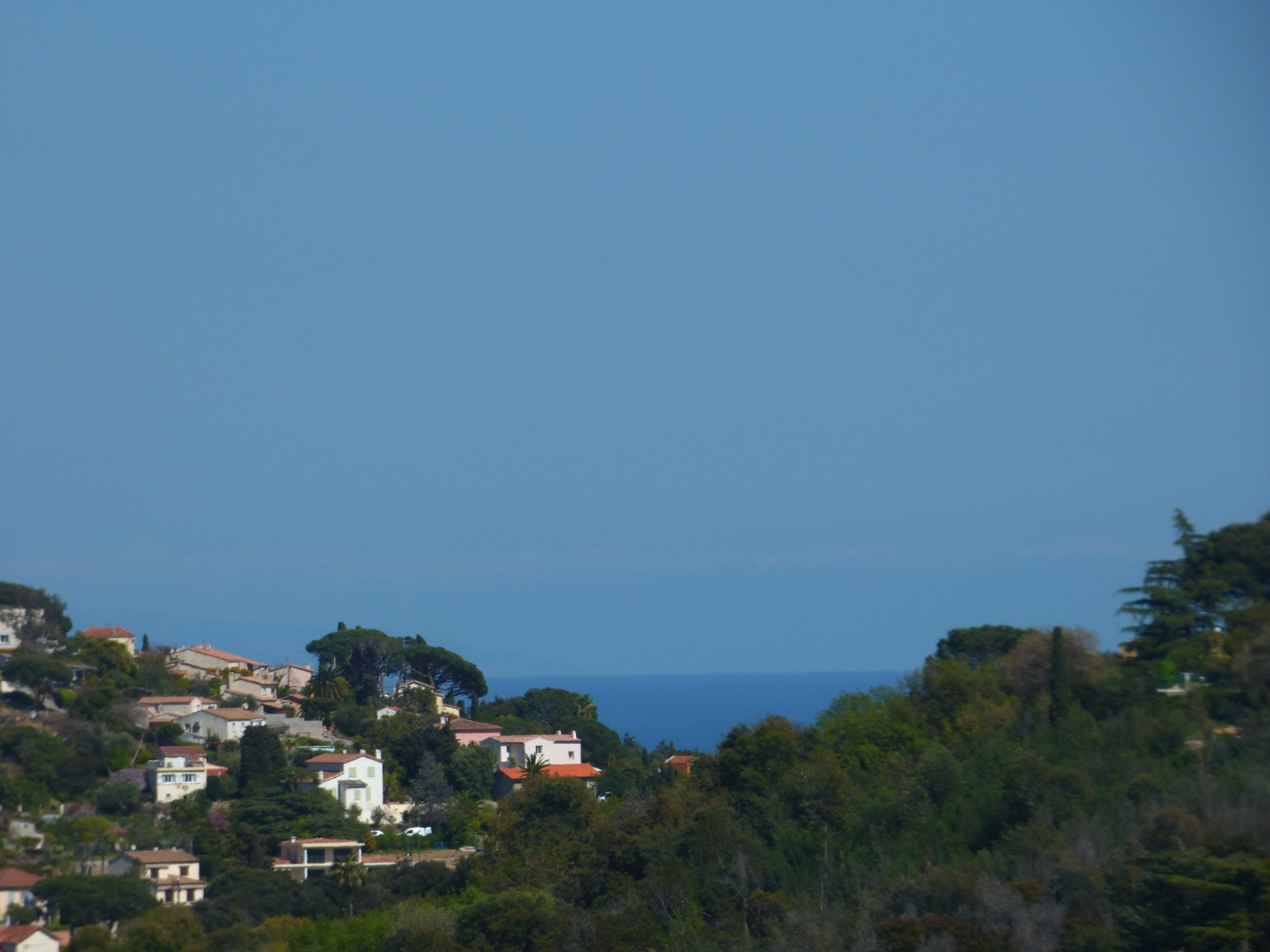 Vallauris in the alpes maritimes beautiful land for sale.