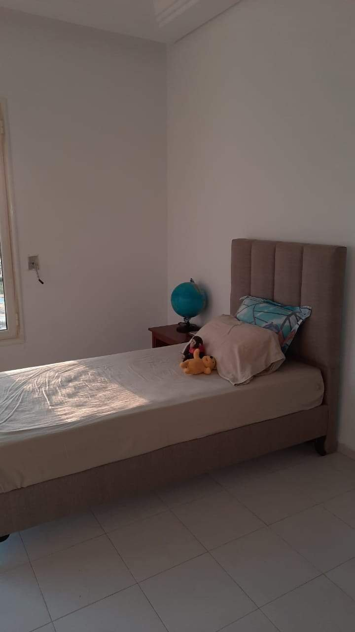 Location Appartement S+3 meublé aux Jardins de Carthage