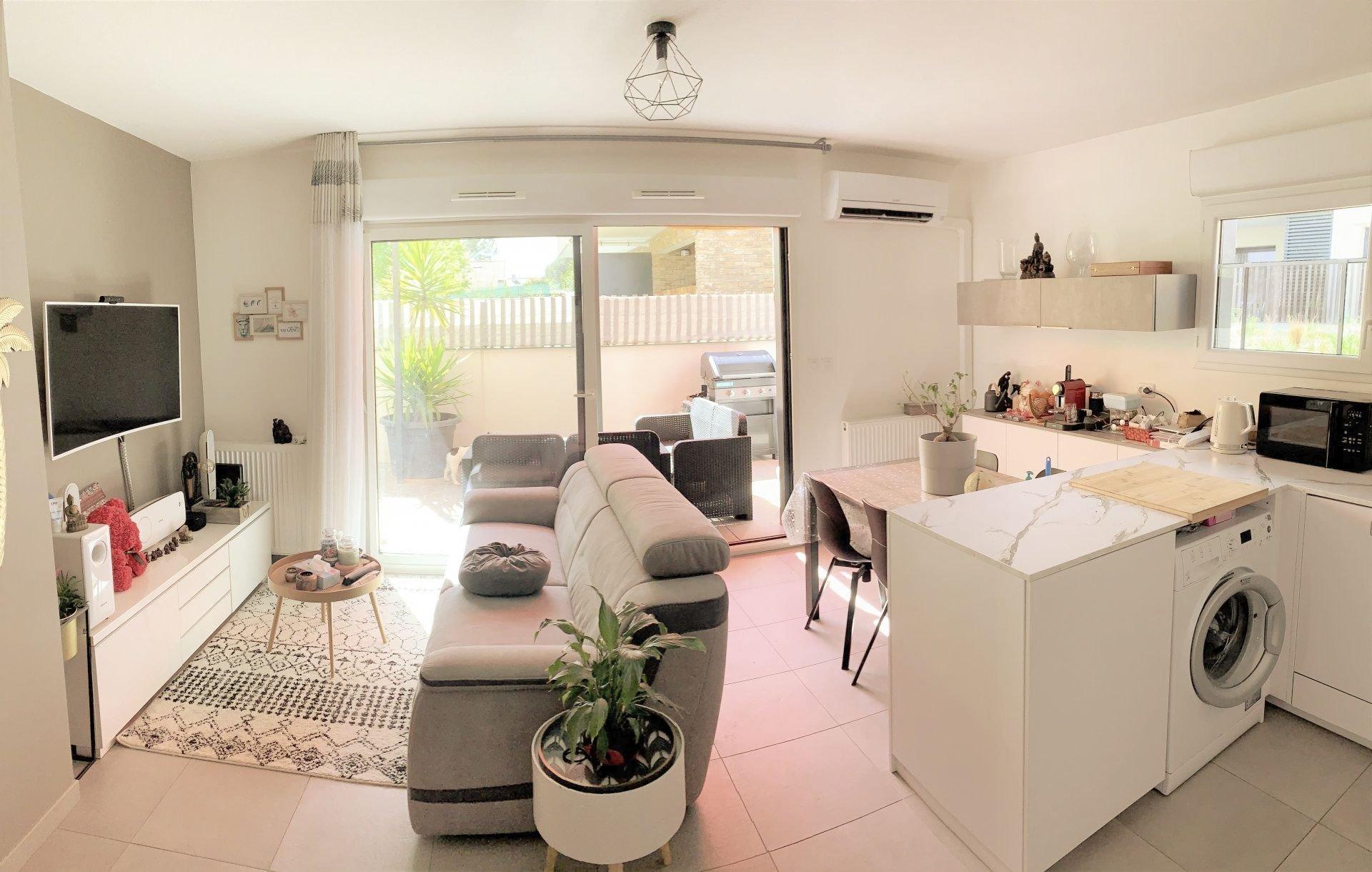 Bel appartement de Type 3 avec terrasse de 21 m2