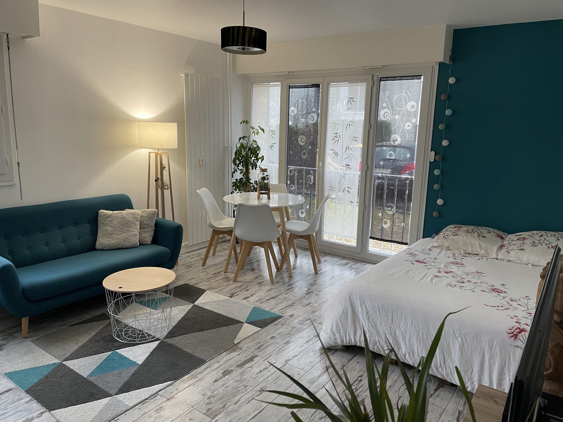 A louer - Studio meublé 27m² avec parking