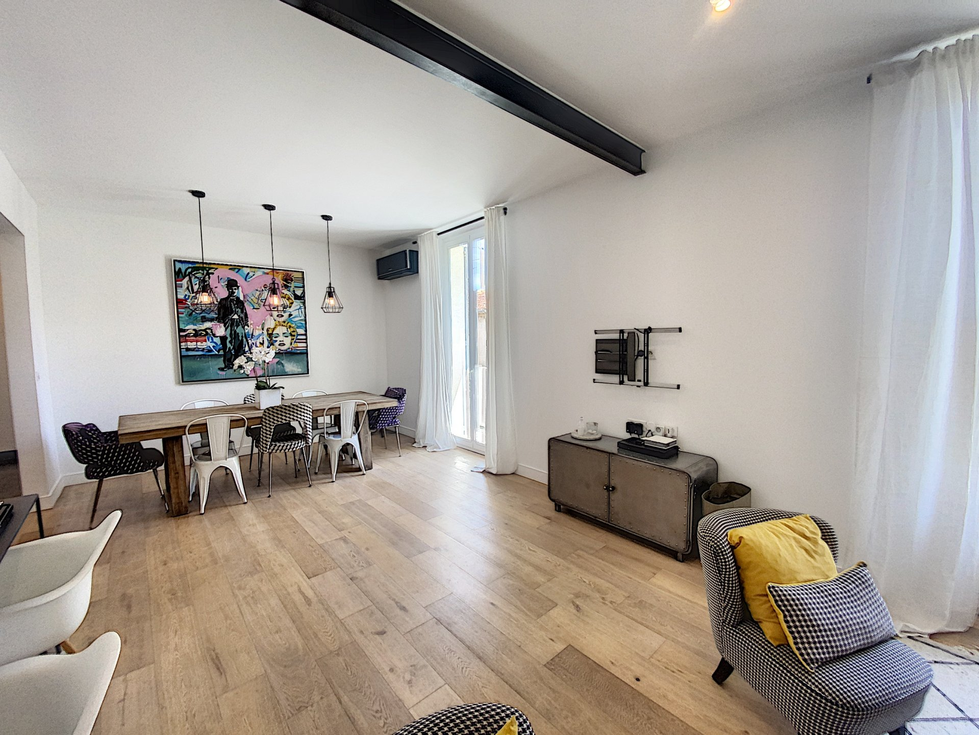 Cannes Palm Beach appartement atypique 123 m2