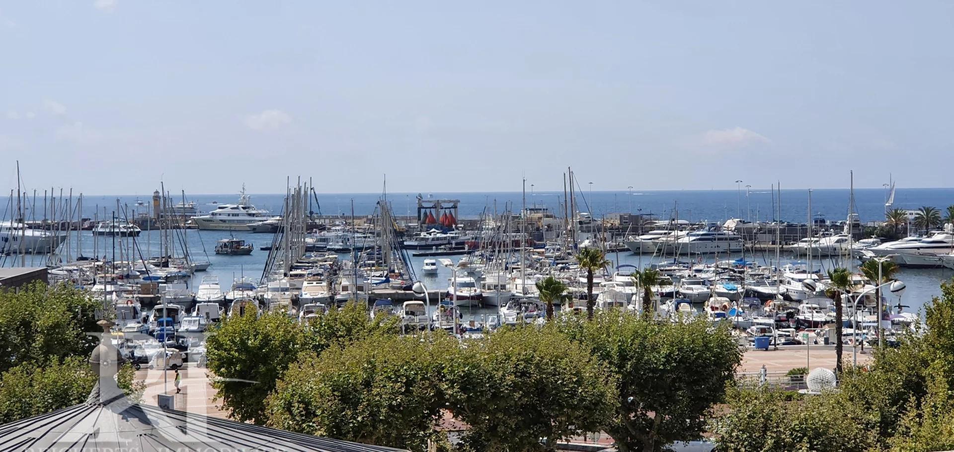 Rare : Cannes Banane - Penthouse 4 pièces front de mer