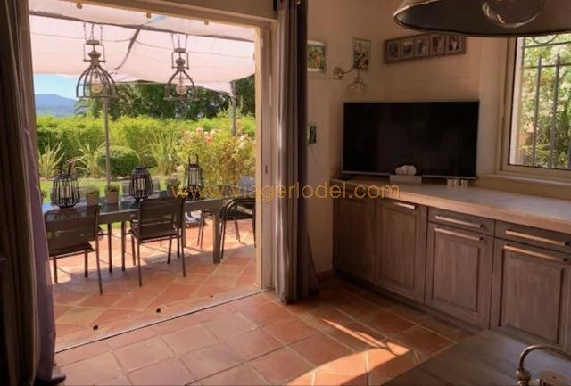 Ref.8248 - BARE OWNERSHIP, 5 years occupation, property in GRIMAUD